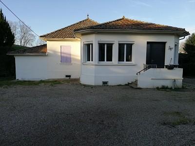 Maison T5 de plain pied sur un terrain 1800 m² A VENDRE - LANGON - 110 m2 - 179800 €